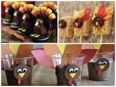 Turkey dessert! | DIY Thanksgiving Turkey Wedding Crafts | Green Bride Guide