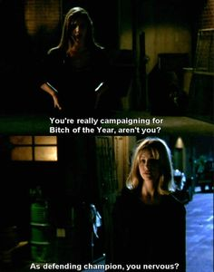 One of my favorite Buffy lines ever