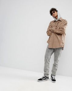 Dead Vintage James Skater Fit Checked Shirt at asos.com | @giftryapp