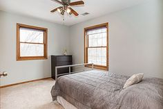 Beautiful and spacious bedrooms  3847 Tessier Trail, Vadnais Heights, MN 55127  http://www.movingtominnesota.com/property-item/gorgeous-vadnais-heights-home/