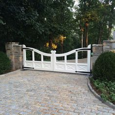 Limestone Boxwoods - Instagram (@limestonebox) - A great gate at a house designed by William T. Baker with landscape design by LandPlus.