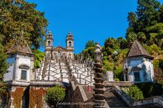 Fotos en el Santuario do Bom Jesus do Monte en Braga   Turismo en Portugal (shared via SlingPic)