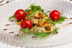 Kulinarik im Restaurant Auf Scharffeneck Rhineland Palatinate, Caprese Salad, Germany, Restaurant, Food, Photo Illustration, Insalata Caprese, Twist Restaurant, Meal