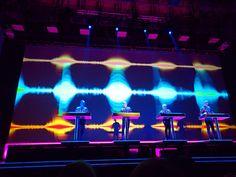Kraftwerk concert in St. Concert, Concerts