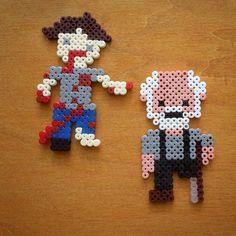 The Walking Dead hama beads by toni__bcn
