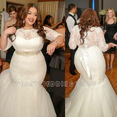 Find A Elegant Ivory Tulle Plus Size Wedding Dress Strapless