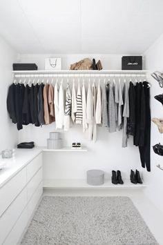 Trendy Bedroom Closet Organization Wardrobe Organisation Tips Wardrobe Organisation, Closet Organization, Organization Ideas, Wardrobe Storage, Closet Storage, Storage Ideas, Storage Design, Storage Drawers, Open Clothes Storage