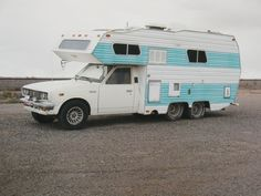 1975 TOYOTA CAMPING CAR. I have a 1990 one of these...wish it looked like that!
