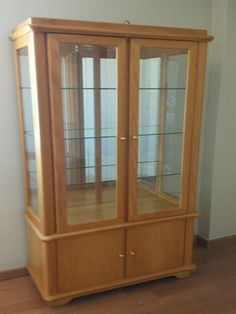 Antique Display Cabinets, Utensil Storage, Small Cabinet, Home Decor Kitchen, China Cabinet, Wood, House, Furniture, Design