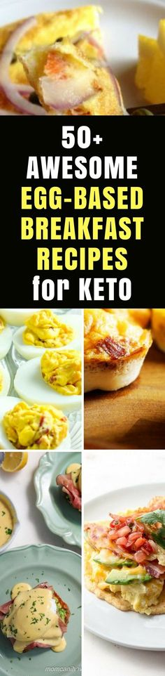 Keto Breakfast Recipes: Amazing & Easy 50+ Egg-based Breakfasts Ideas