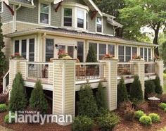 From simple deck plans for a wood deck, to choosing the right composite decking, here's everything to know for how to design, build, or restore your deck! Deck Building Plans, Deck Repair, Deck Posts, Laying Decking, Under Decks, Deck Construction, Outdoor Living, Outdoor Decor, Outdoor Life