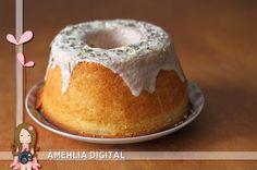 Amehlia Digital: Bolo de lavanda e limão siciliano - Em silêncio!