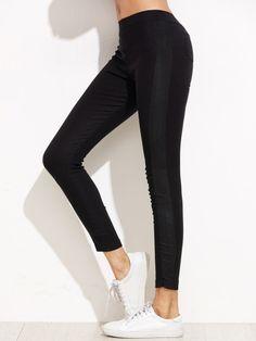 Leggings simple-Sheinside