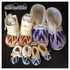 Creative Native Boutique: Moccasins...