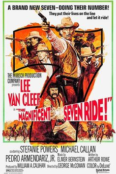 The Magnificent Seven Ride! - 1972 - Movie Poster