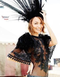 nicole richie 2014 4 Nicole Richie Joins the Circus for Elle Australia Cover Shoot