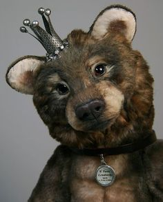 K Pawz OOAK Artist Realistic Teddy Bear Cub NO Reserve