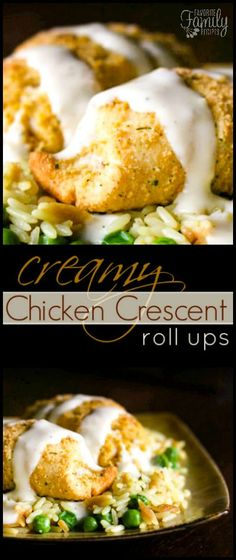 I loved these Easy Chicken Crescent Roll Ups as I was growing up and I still love them today! A VERY quick meal and is definitely a husband and kid pleaser! Family Vegetarian Meals, Quick Family Meals, Family Recipes, Dinner Rolls Recipe, Easy Dinner Recipes, Easy Meals, Chicken Crescent Rolls, Cresent Rolls, Crescent Roll Recipes