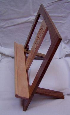 Atril de madera personalizado
