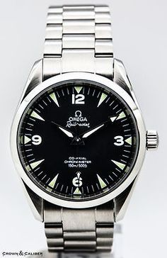 Omega Seamaster Railmaster Co-Axial Omega Railmaster, Omega Seamaster, Omega Watch, Mens Fashion, Watches, Accessories, Style, Clocks, Moda Masculina