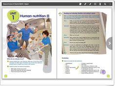 Unidad 1 de Natural Science de 6º de Primaria Human Nutrition, Anaya, Science And Nature, The Unit, Natural, Teaching Resources, Unity, United States, Learning