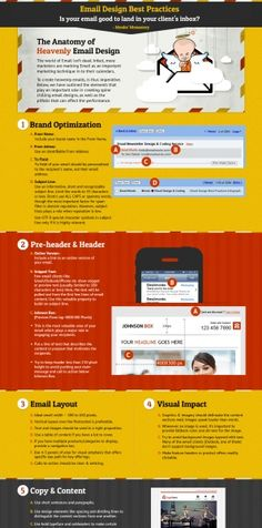 An interactive infographic & checklist for creating exemplary emails. Email & Newsletter Design Best Practices infographic comprises useful Email Newsletter Design, Email Newsletters, Email Marketing, Internet Marketing, Digital Marketing, Interactive Infographic, Email Layout, Blog Websites, Email Design Inspiration
