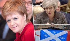 Nicola Sturgeon and Theresa May have clashed