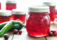 Tart cranberries and spicy peppers mingle in this sweet and spicy Cranberry Pepper Jam. When I realized I've been buying Cranberry Pepper Jam almost every time I'm at the grocery store, I knew it was Cranberry Pepper Jelly Recipe, Pepper Jelly Recipes, Cranberry Jam, Hot Pepper Jelly, Bell Pepper, Serrano Pepper Jelly Recipe, Jalapeno Jelly, Jam Recipes, Canning Recipes
