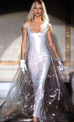 Gianni Versace Haute Couture / Fall 1995 / Karen Mulder