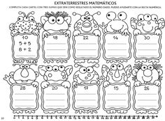 Album Archive - Descubro Números 0 al 100 Math For Kids, Activities For Kids, School Frame, Kids Math Worksheets, Math Intervention, Third Grade Math, School Items, Brain Teasers, School Resources