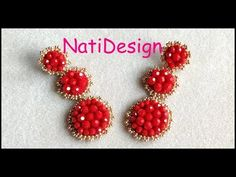 Beading Projects, Beading Tutorials, Beaded Jewelry Patterns, Beading Patterns, Seed Bead Earrings, Beaded Earrings, Beaded Chocker, Earring Tutorial, Simple Jewelry