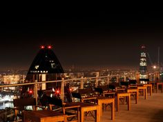 Need a birds eye view of London (38 stories up)? Like sushi with a twang of Brazilian or Peruvian cuisine? Check out Sushisamba with the highest rooftop terrace in London. Go in for dinner, or just drinks...up to you!