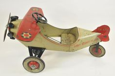 Porción # : 1541 - STEELCRAFT ARMY SCOUT PEDAL PLANE