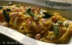 Tagliatelle+salmone+e+asparagi