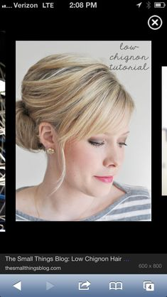 mother of the bride hairstyles | Possible mother of the bride hairstyle | Lori Edmunds