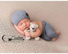 Macadamia-Nuss Sommer Soft Neugeborenen Hose von CustomPhotoProps