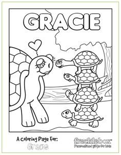 personalised Xmas coloring pages | Godparent Love | Pinterest | Xmas ...