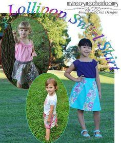 Lollipop Swirl Skirt - Size 2 only | Craftsy