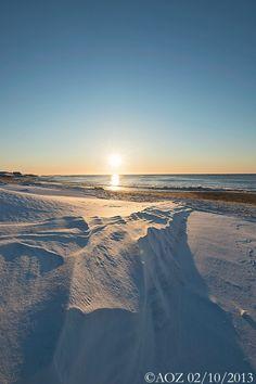 Snow on Long Island beach! Fire Island, Long Island Ny, Island Beach, Montauk Lighthouse, Montauk Point, Jones Beach, Island Pictures, New York Christmas, I Love Ny
