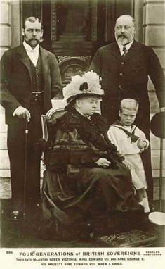 London, Royalty, Queen Victoria and Four Generations II