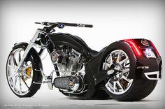 American Chopper Cadillac CTS-V Bike by Paul Jr Designs <3 <3 <3 LOVE This