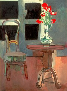 Francoise Gilot - The Green Chair, 1958. Private Collection, California