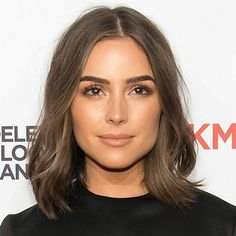 Olivia Culpo's bold brow and fluttery lashes are out of this world