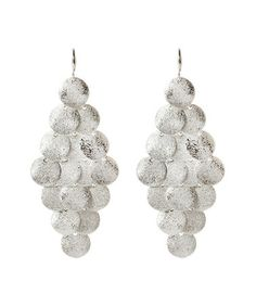 Another great find on #zulily! Silver Zosim Drop Earrings by Amrita Singh #zulilyfinds