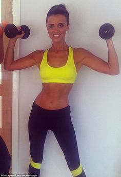 Lucy Mecklenburgh #fashercise