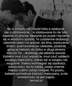 TeMysli.pl - Inspirujące myśli, cytaty, demotywatory, teksty, ekartki, sentencje Motto, Ale, Texts, Good Things, Words, Funny, Happy, Quotes, Inspiration