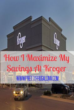 tips and tricks I use to get max savings at the grocery store, specifically Kroger