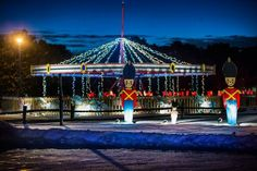 A tour of the light displays at the Oshkosh Celebration of Lights in Menomonie Park. Wisconsin, Celebration, Fair Grounds, Tours, Lights, Park, Travel, Viajes, Parks
