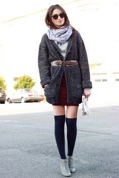 What To Wear With Knee High Socks [17 pics] | Fashion Inspiration Blog