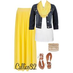 """""""Maxi Skirt #10"""" by callico32 on Polyvore"""